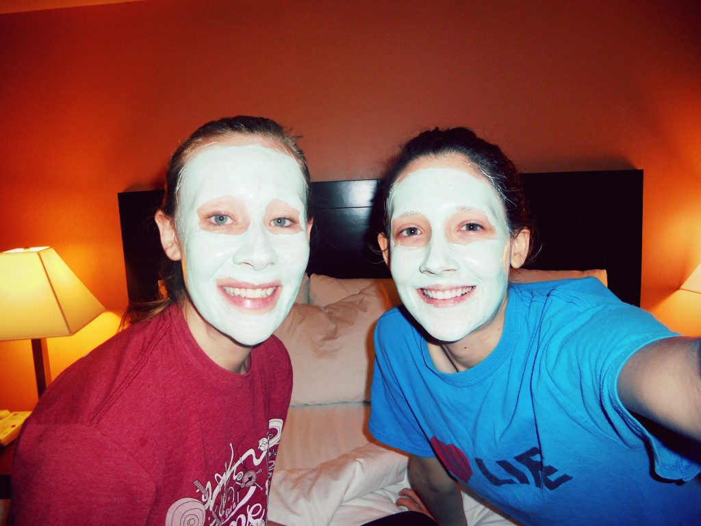 Disney World Mud Masks