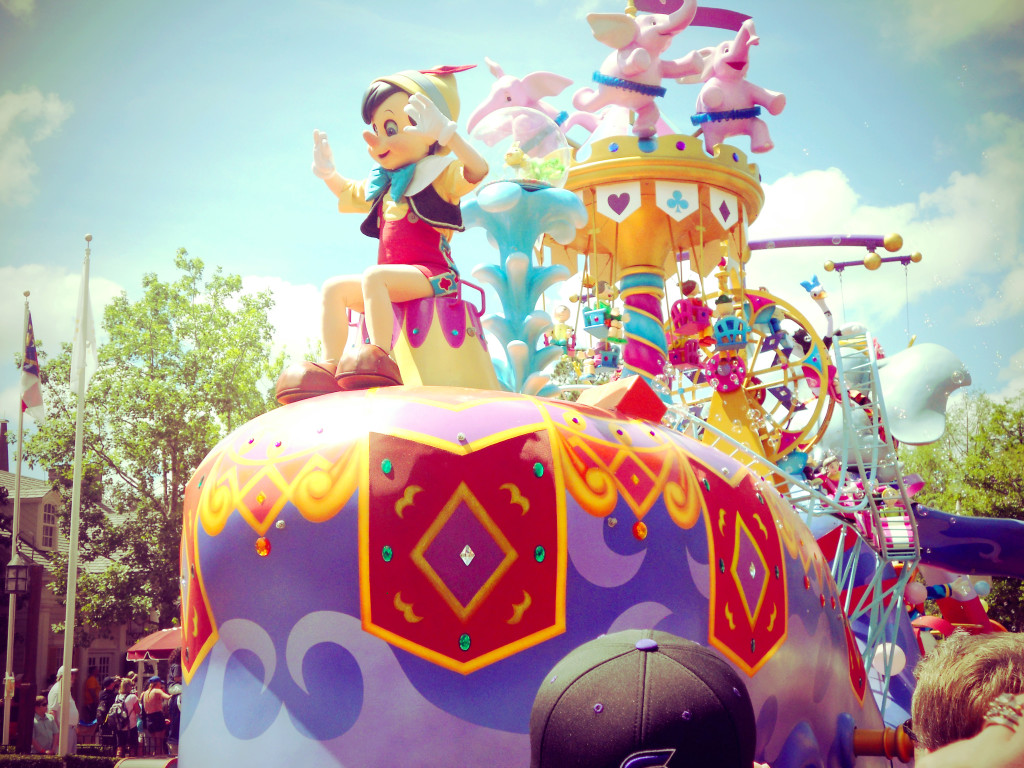 Disney World float