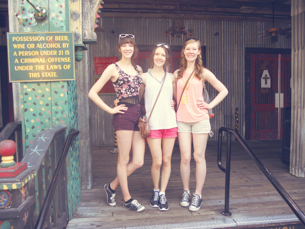 Disney World with sisters