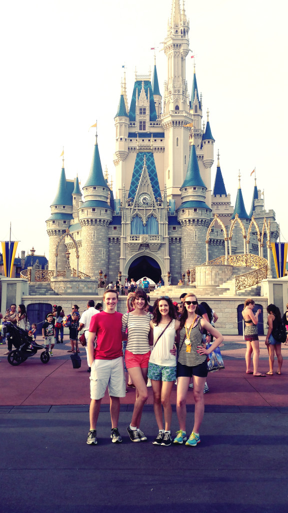 Disney World with sisters and Ryan
