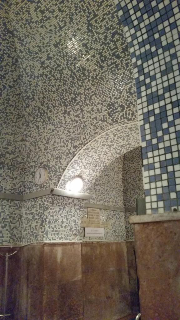 Kiraly Turkish bath Budapest