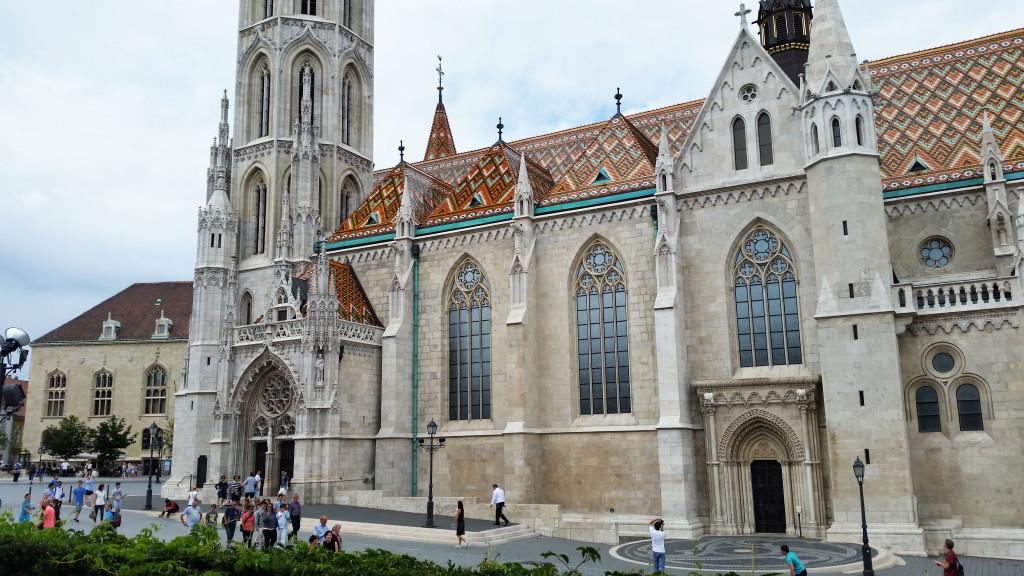 Budapest Limestone church