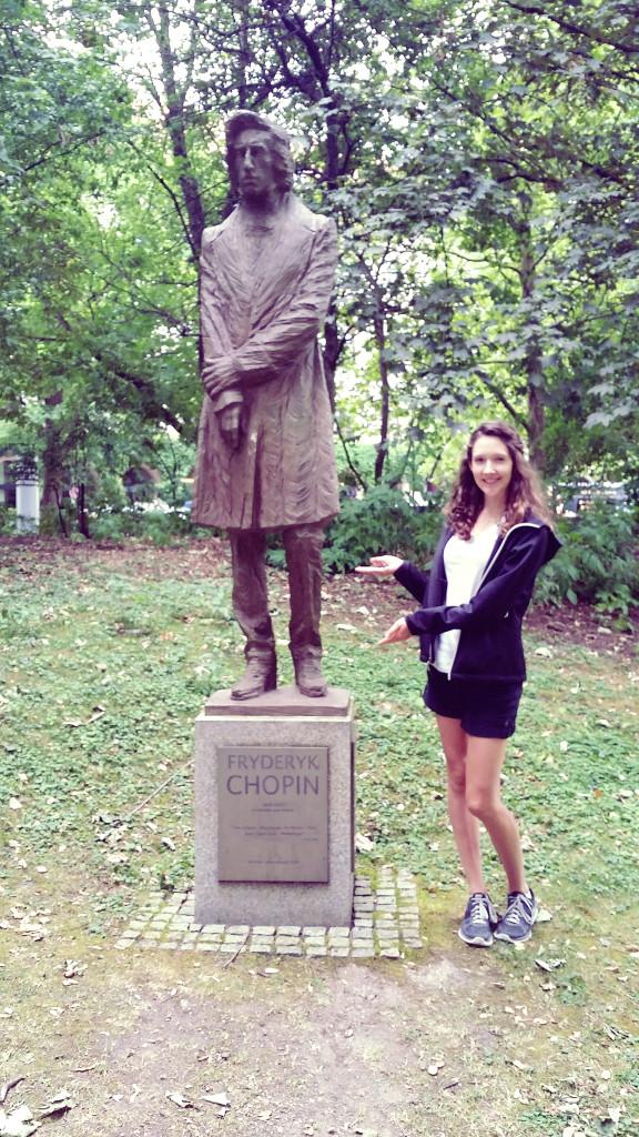Munich Chopin statue