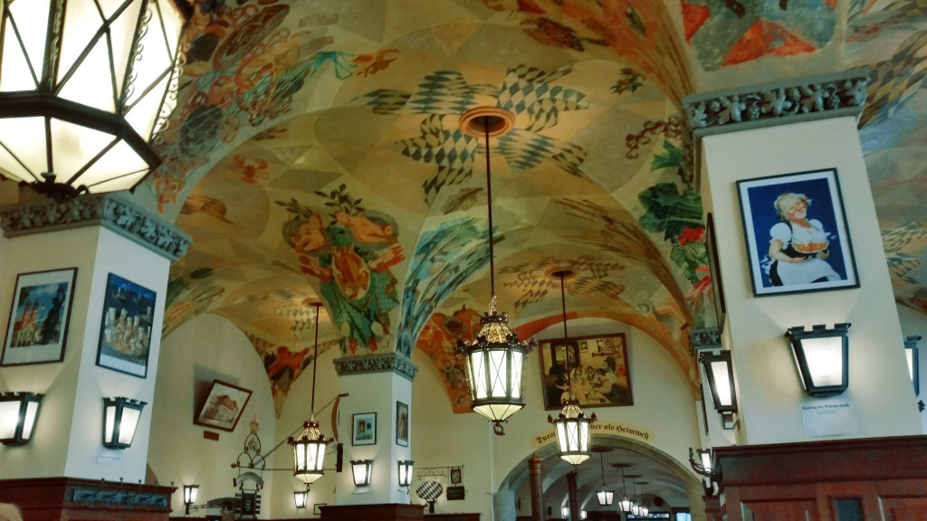 Hofbräuhaus Munich inside
