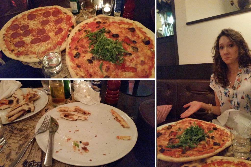 Salzburg, Austria Pizza