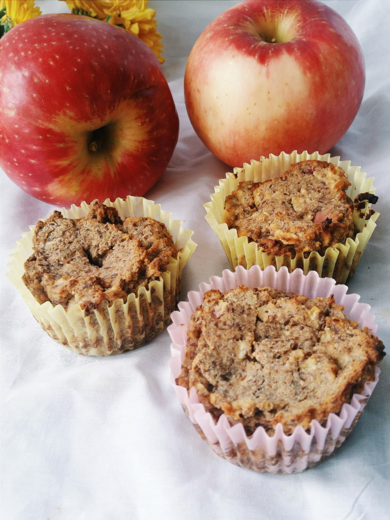Sugar free apple cinnamon muffins