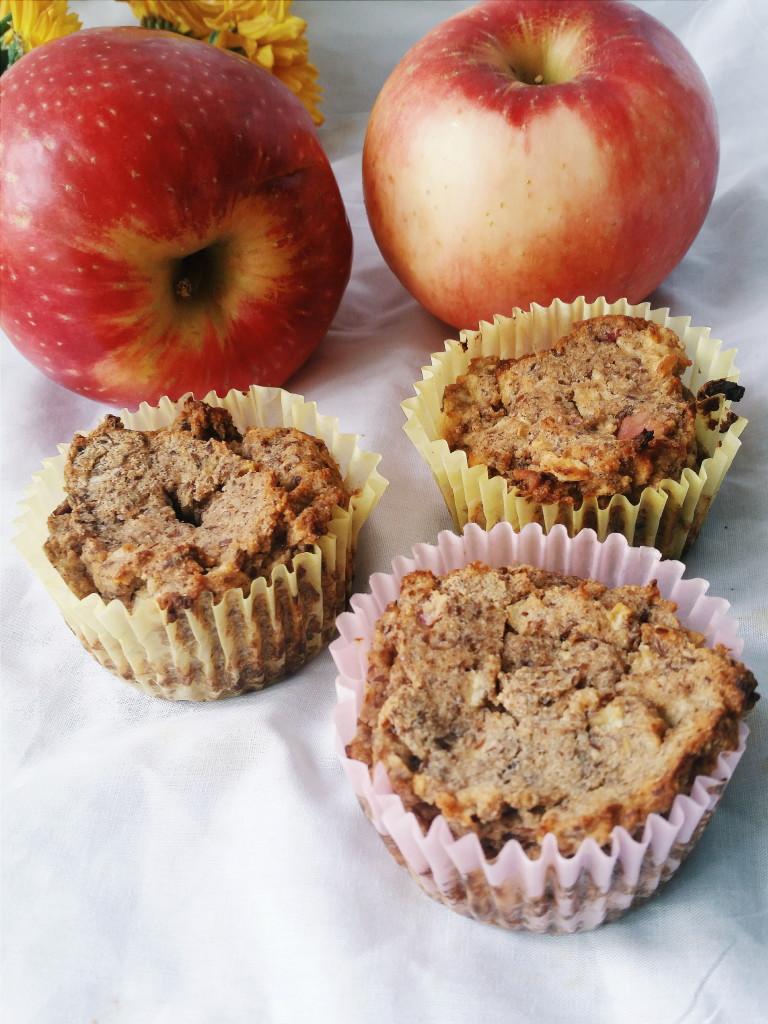 Sugar free apple cinnamon muffins