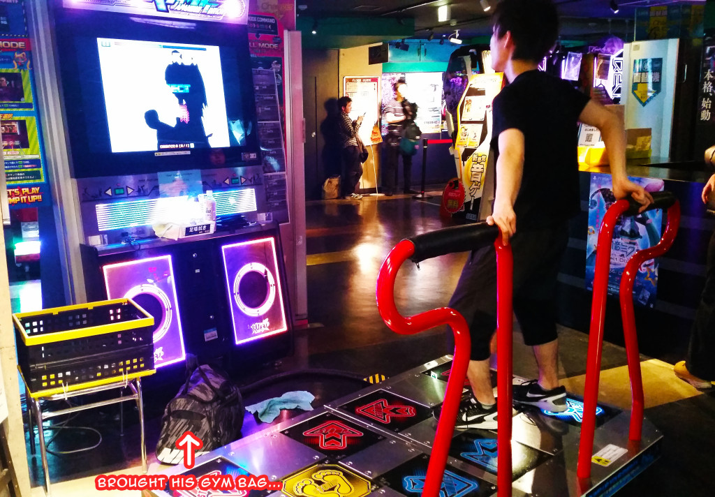 Akihabara video game arcade