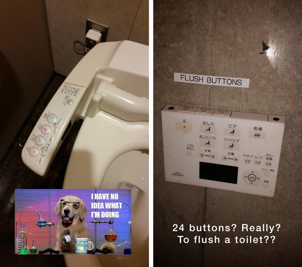 Japanese toilets