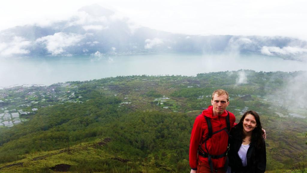 Bali hiking lake