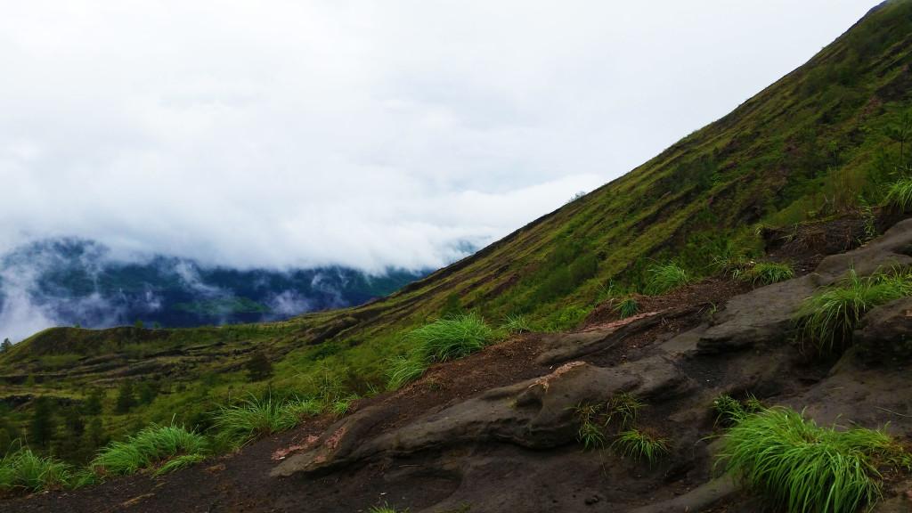 Bali hiking Mt. Batur