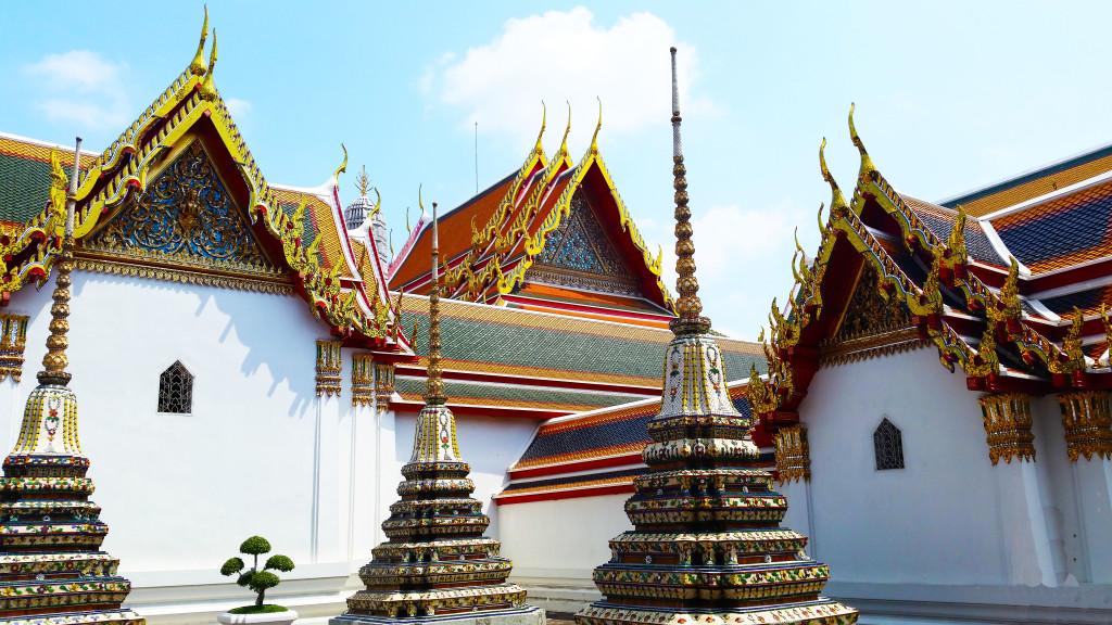 Wat Pho buildings