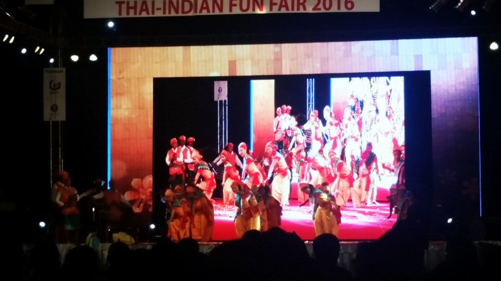 Thai Indian Fun Fair 2016 Bangkok Dance