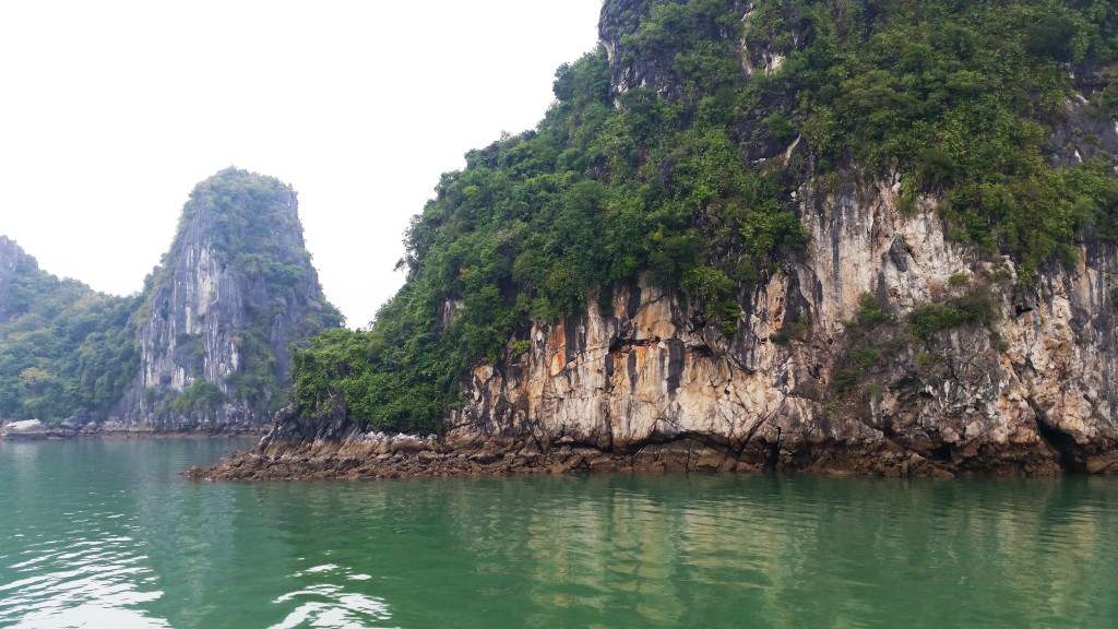 Ha Long Bay island