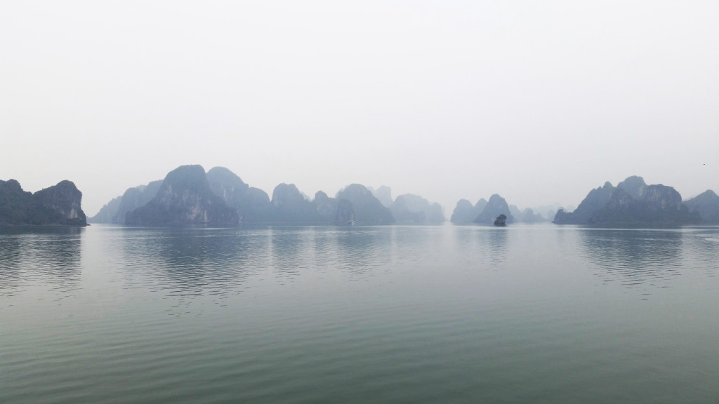 Ha Long Bay Foggy