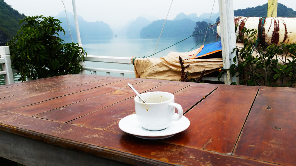 Ha Long Bay coffee