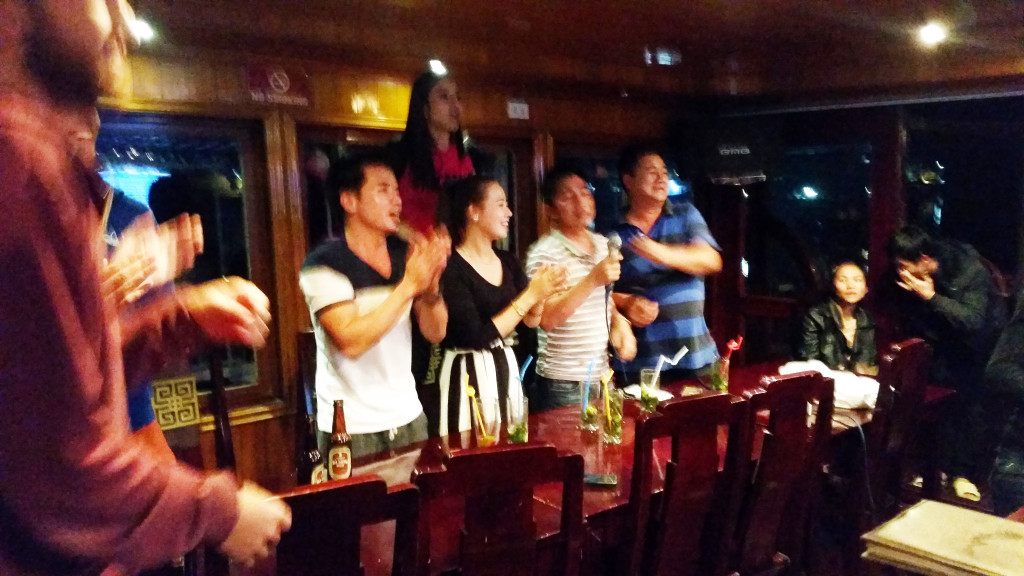 Ha Long bay Cruise Karaoke
