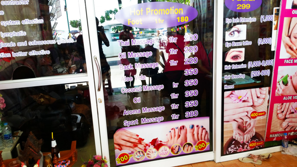 massage in Thailand