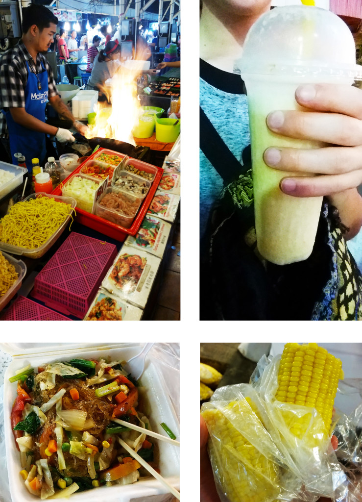 Thailand vegan street food