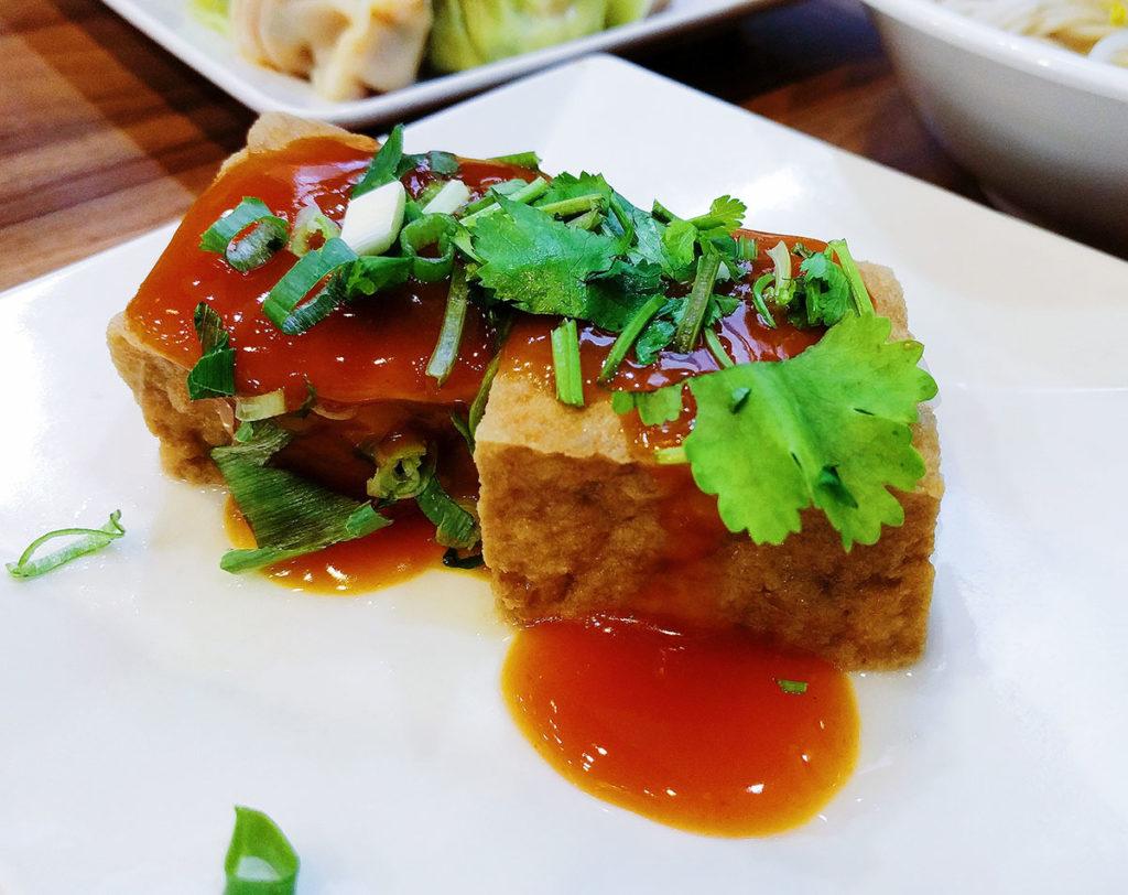 fried tofu taiwan