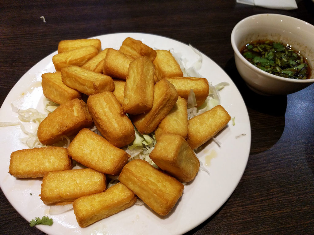 taiwan fried tofu