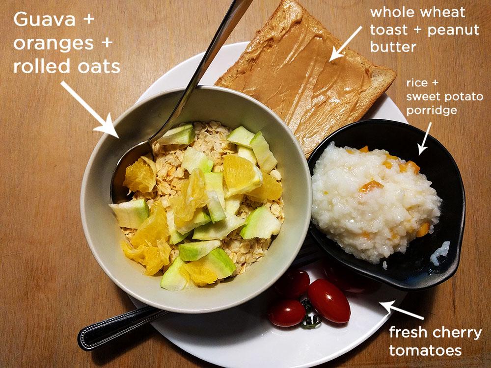 Taipei Meander Hostel food