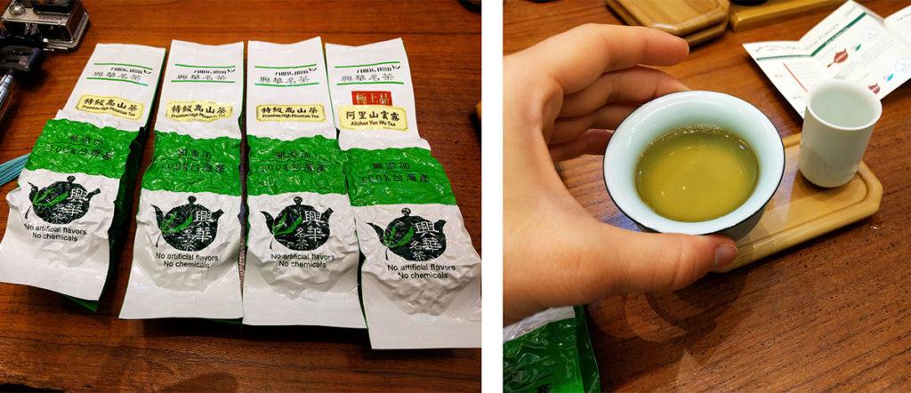 Taipei oolong tea