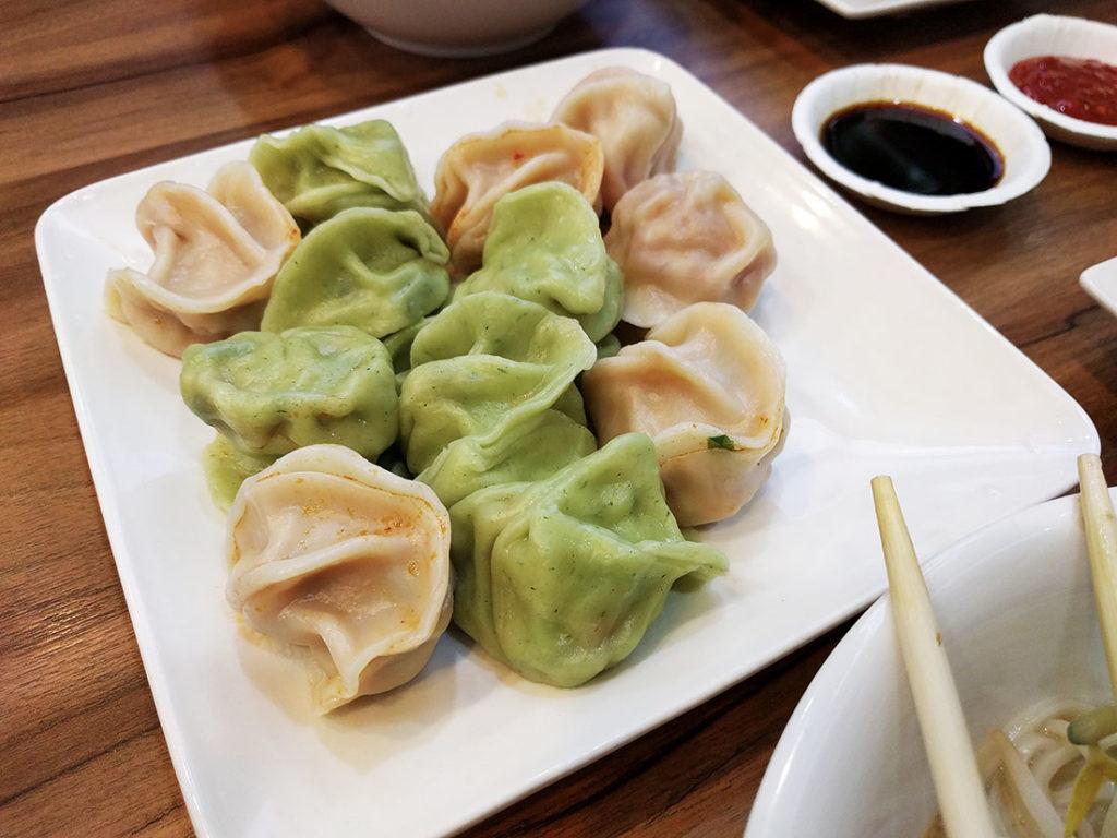 vegetable dumplings taiwan
