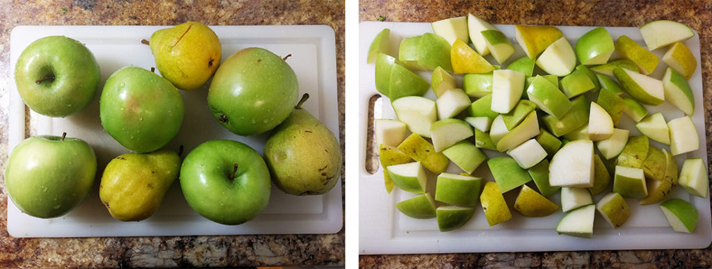 Granny smith pear applesauce | spartanlifeblog.com