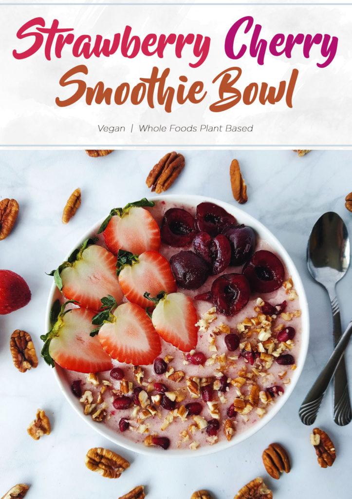 pinterest strawberry smoothie bowl