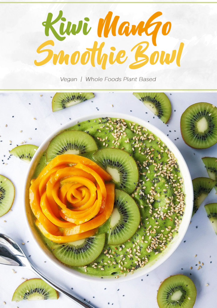 Kiwi Mango Smoothie Bowl