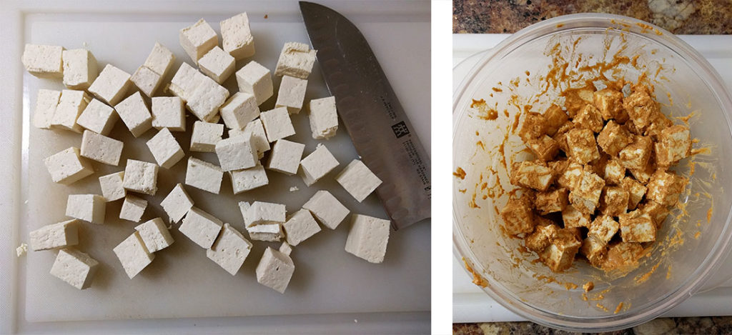 peanut tofu sauce