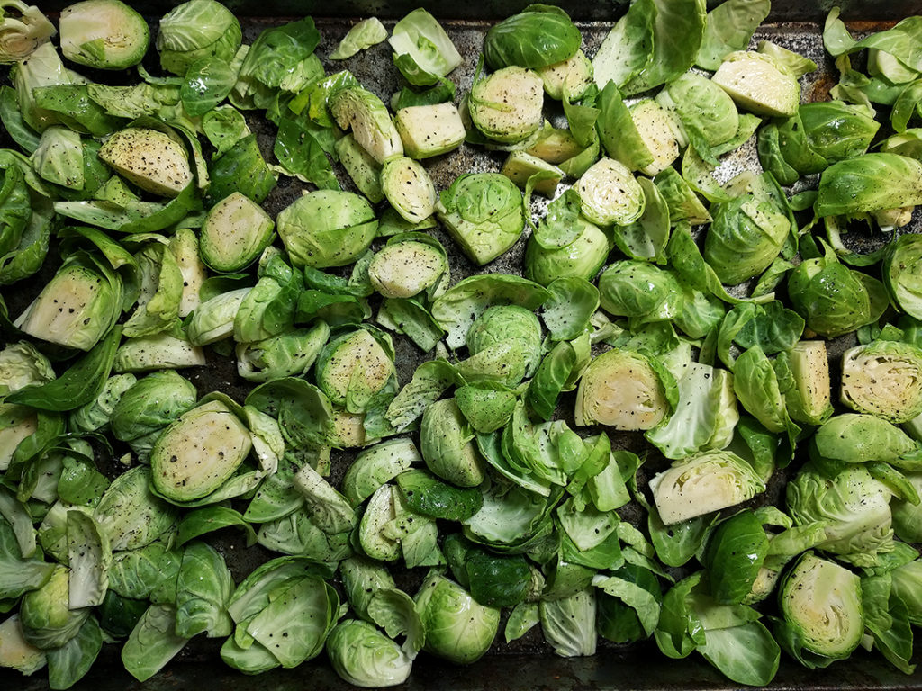 red wine vinegar Brussels sprouts