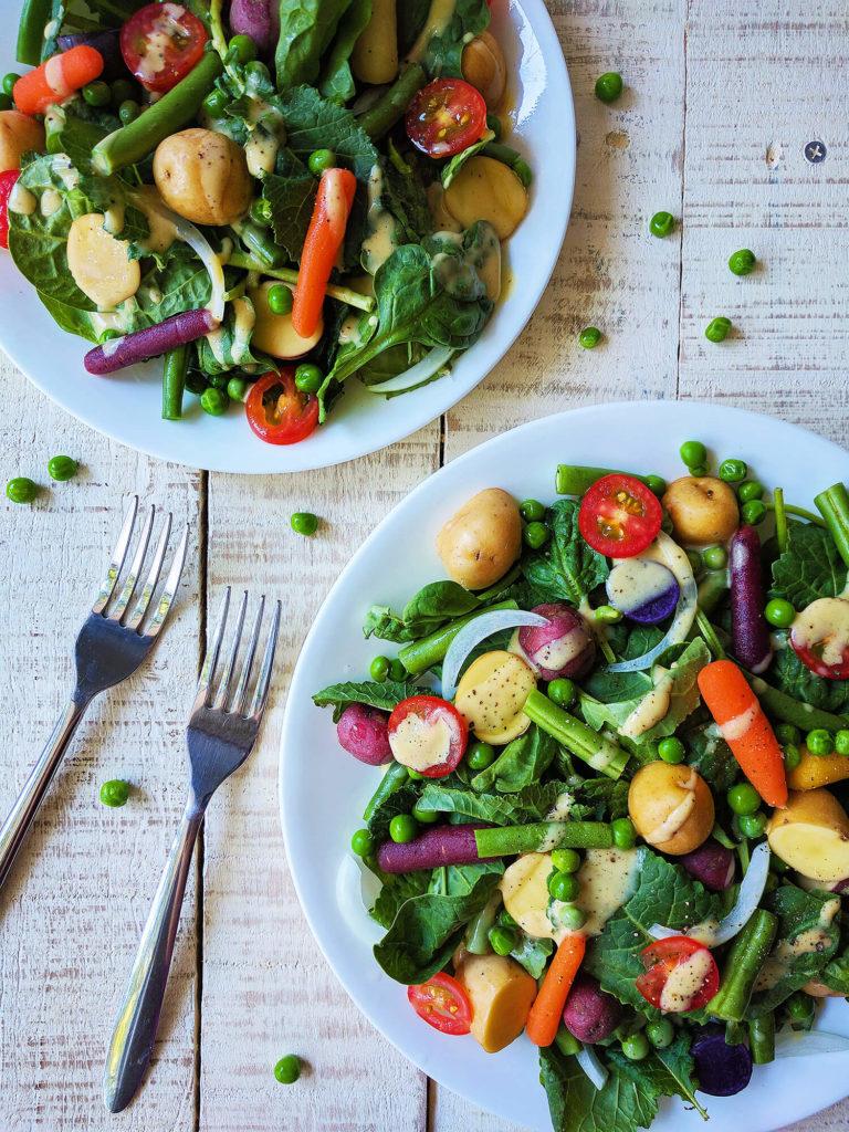German Harvest Salad