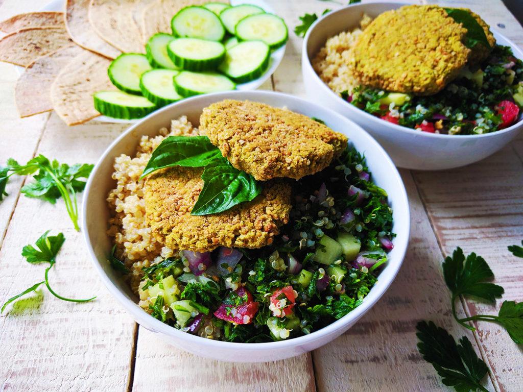 Oil free falafel | spartanlifeblog.com