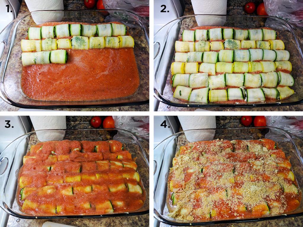 healthy zucchini roll ups