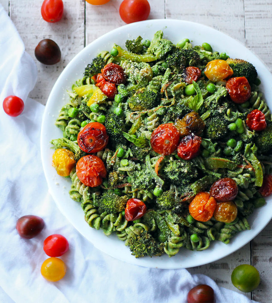 superfood pesto pasta | spartanlifeblog.com