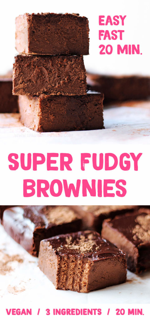 Super Fudgy Brownies | by spartanlifeblog.com