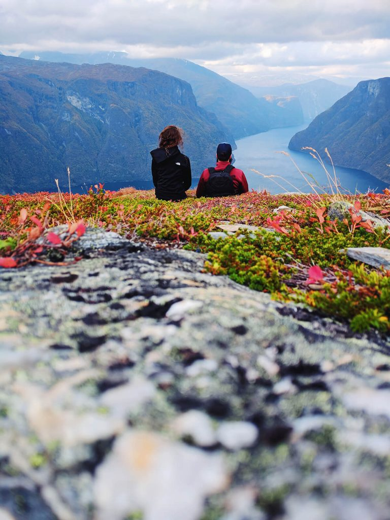 romantic Fjord hike