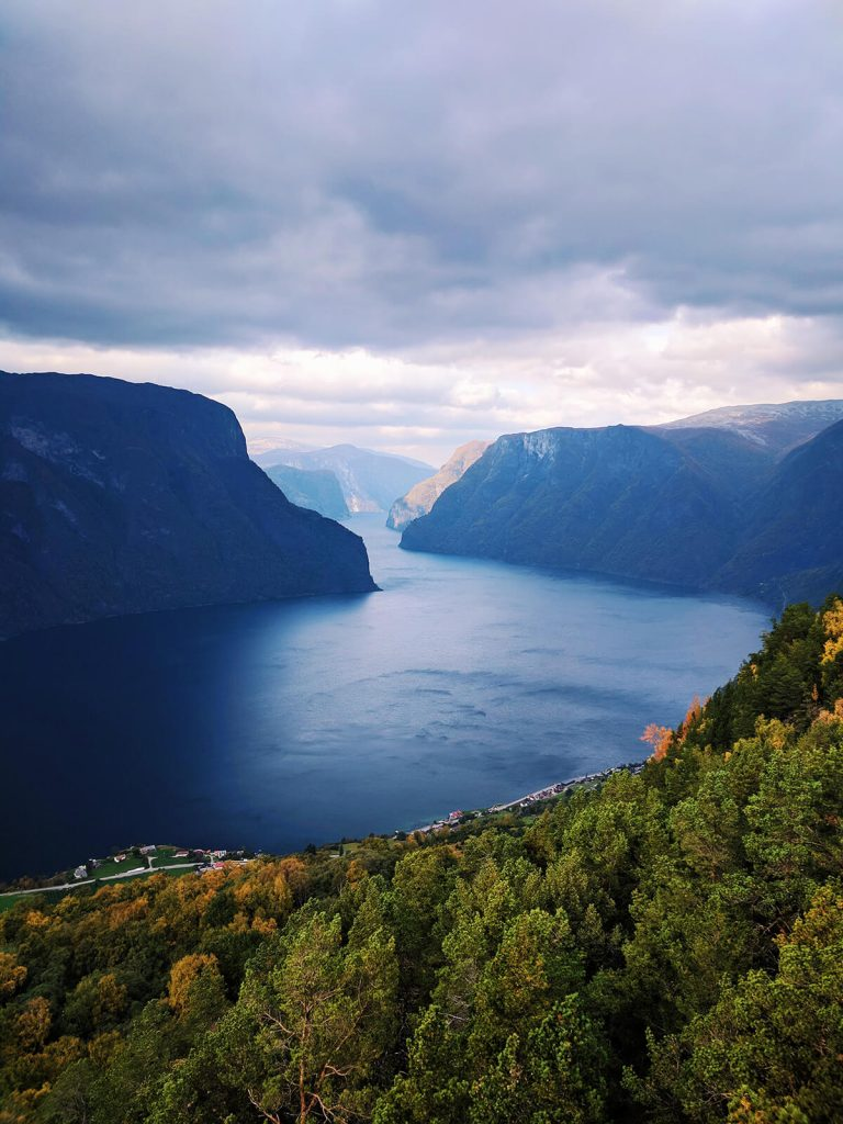 Aurland lookout point