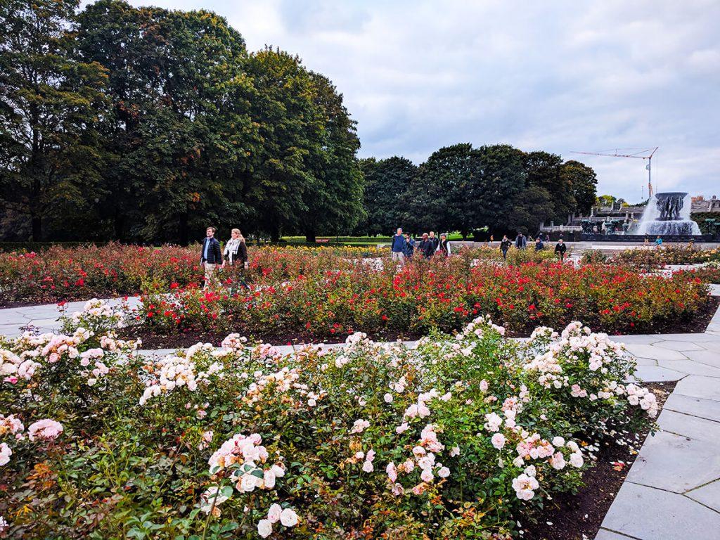 Vigeland park gardens