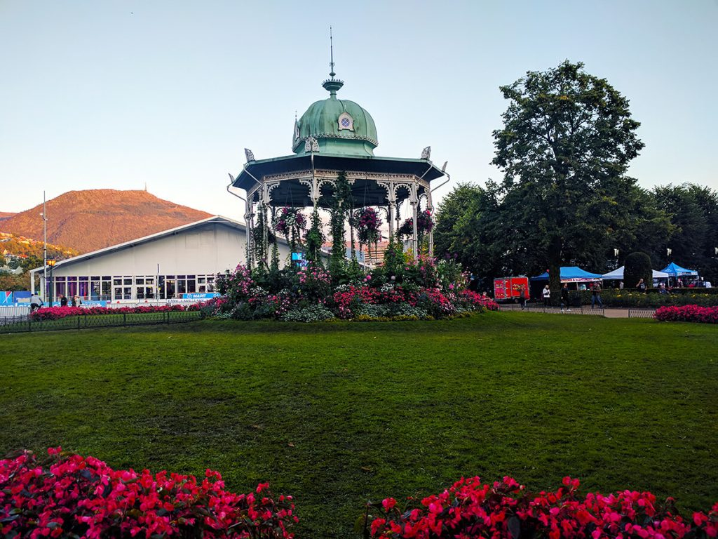 bergen norway gazebo