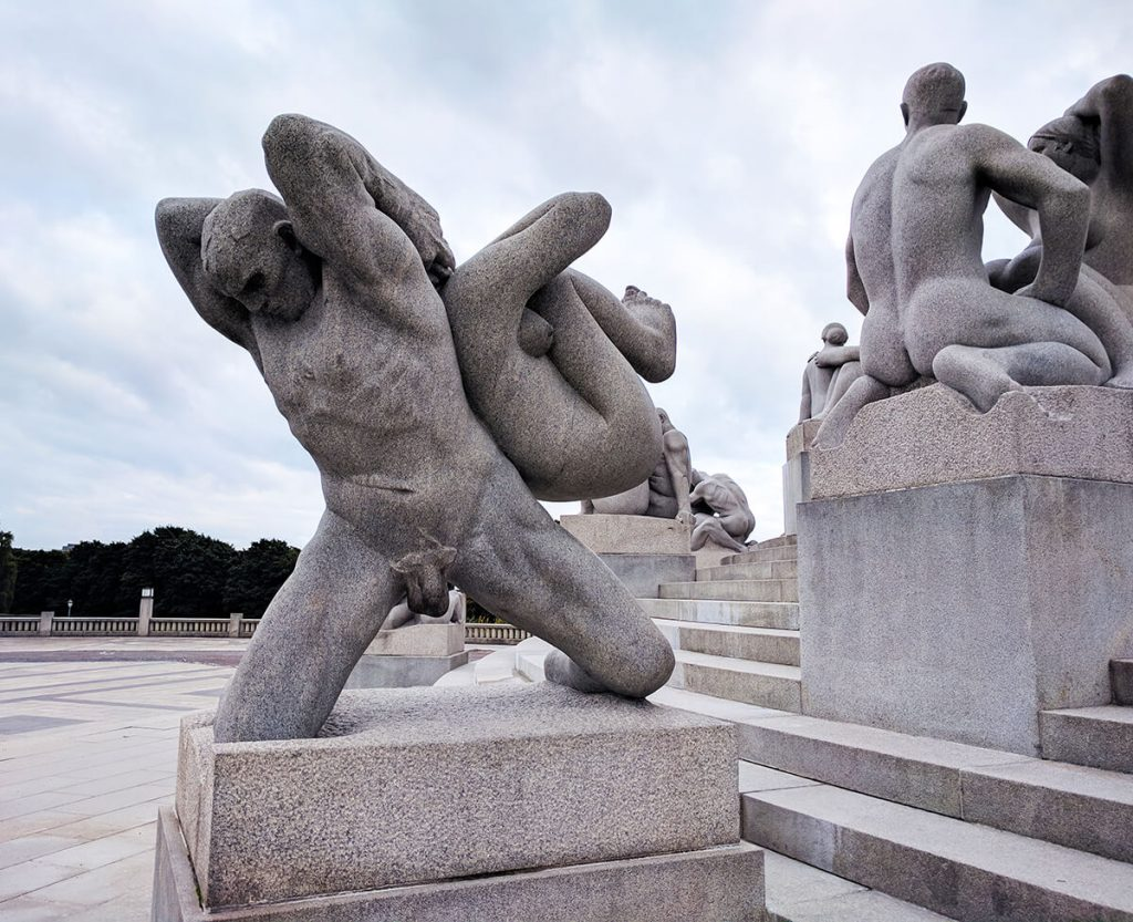 oslo Vigeland naked people