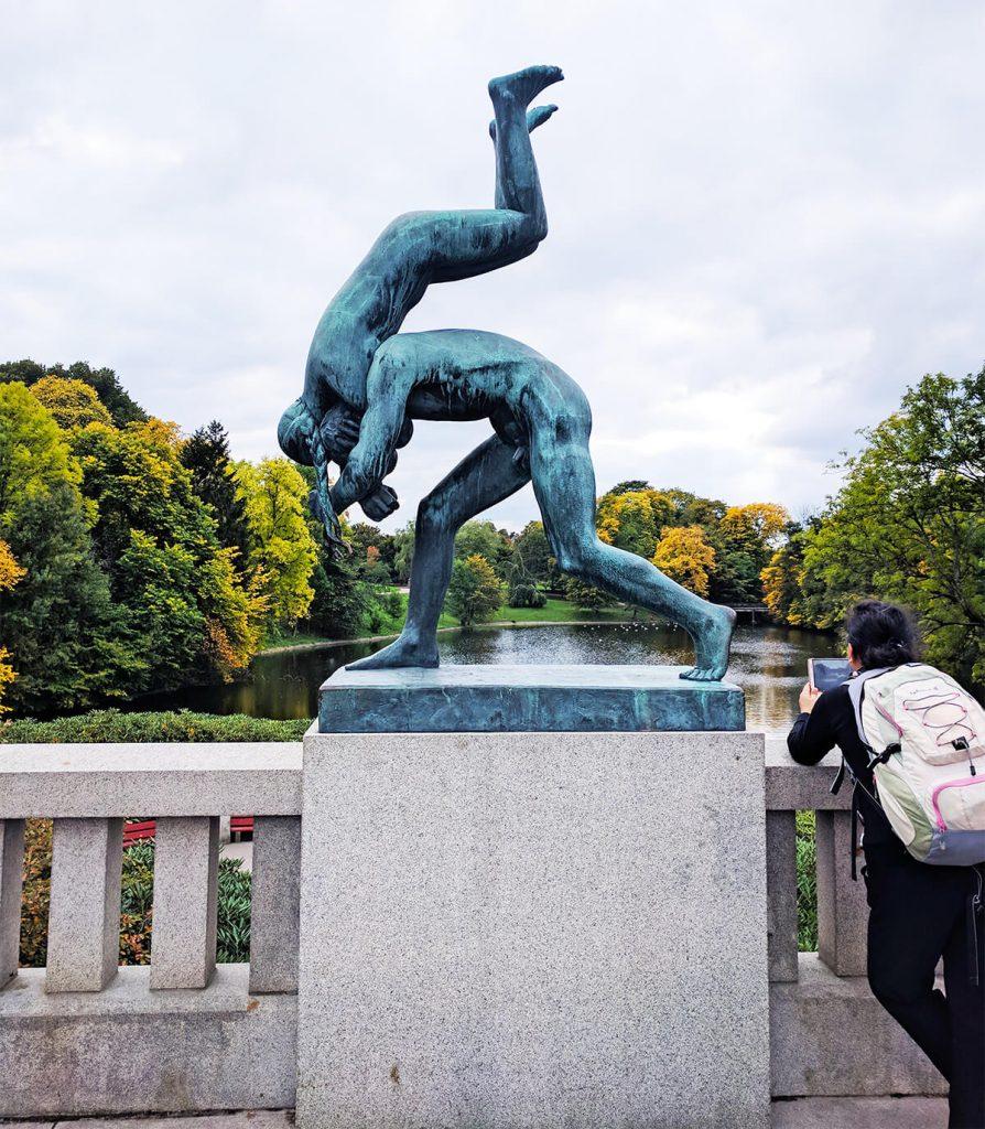 Vigeland statue park oslo