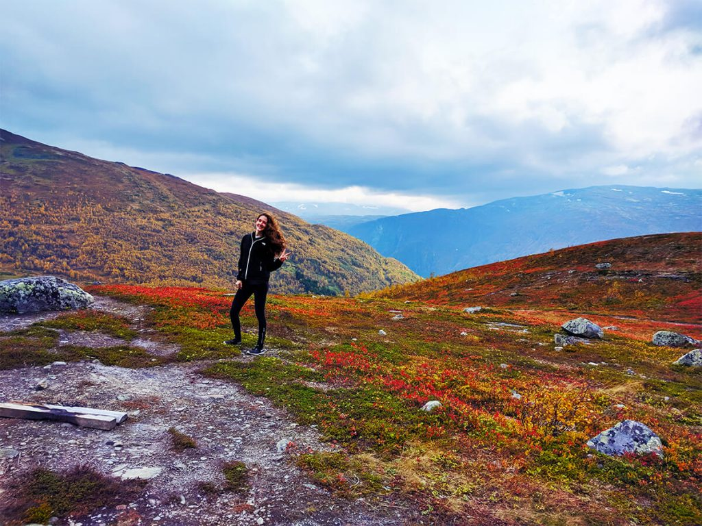 hiking the fjords of Norway