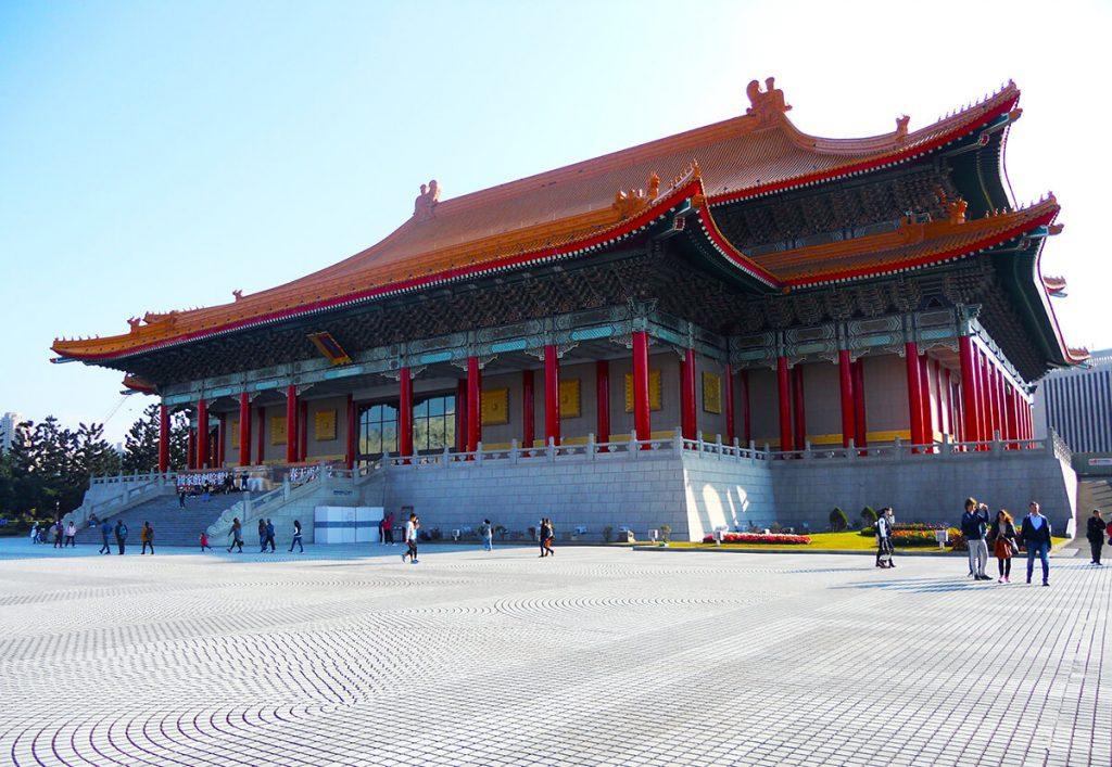 things to do in taipei Chiang Kai-shek Memorial Hall