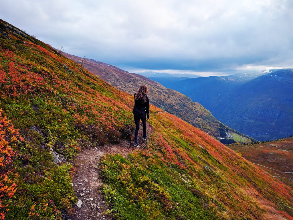 hiking in Norway fjords