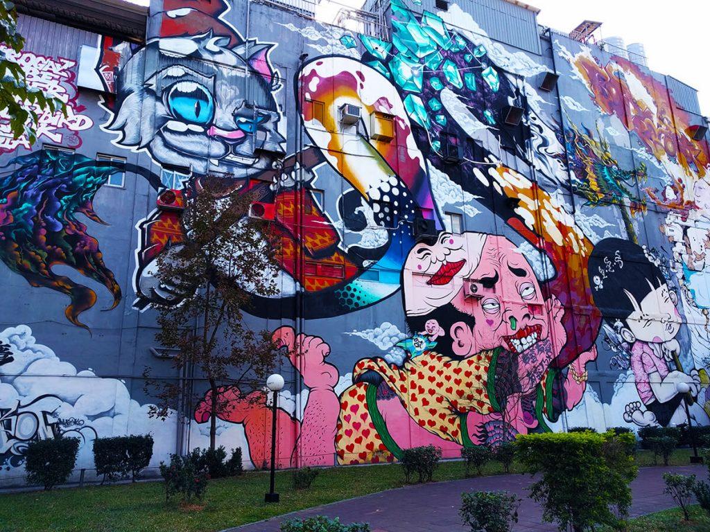 Taipei graffiti