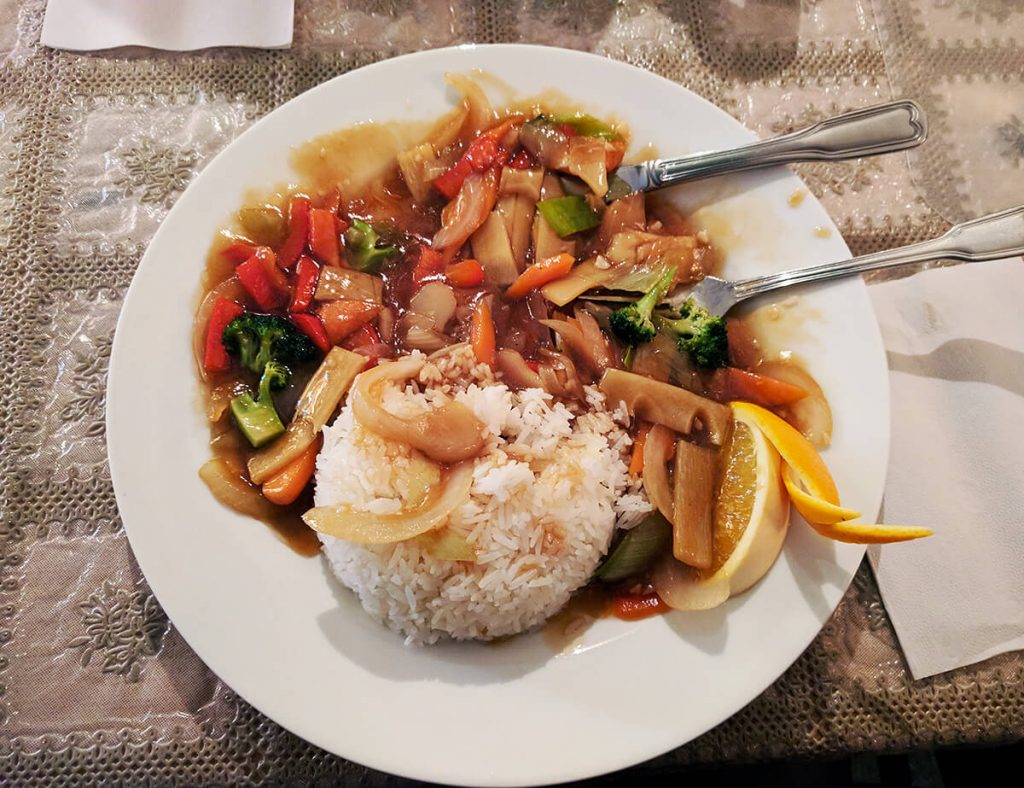 Norway chinese food