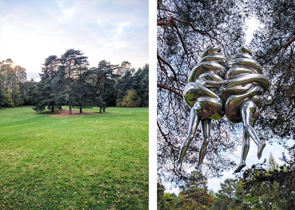 ekebergparken sculpture park poop padies